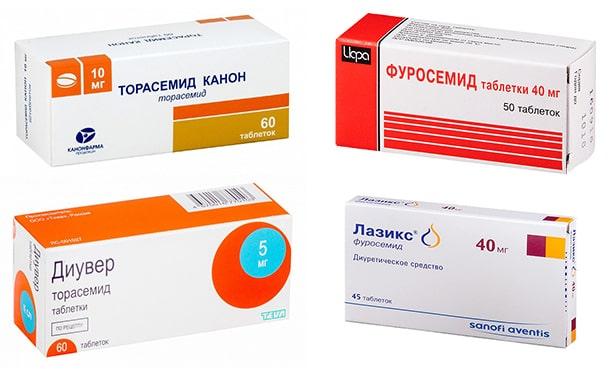 Петлевые диуретики