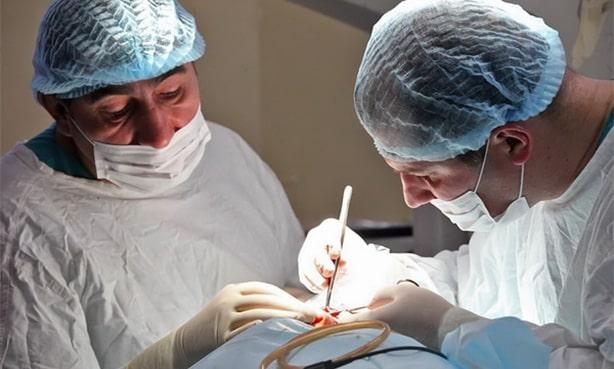 Операция при холестеатоме