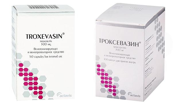 Троксевазин (Троксерутин)