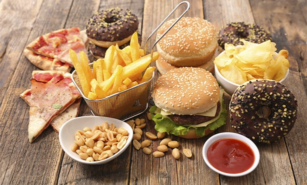 Фаст-фуд, вредная еда при холестерине