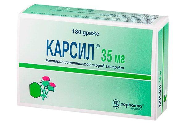 Карсил, 180 таблеток