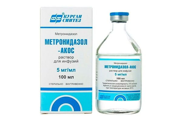 Метронидазол, раствор