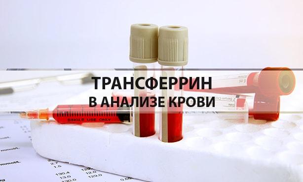Трансферрин в анализе крови