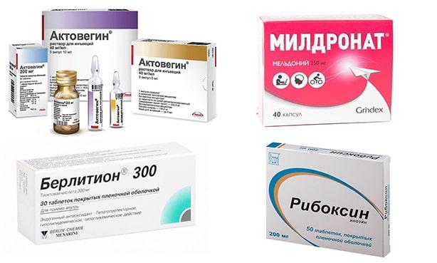 Мтаболические препараты