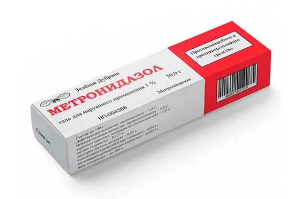 Метронидазол, гель