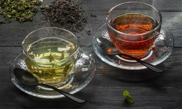 Какой чай понижает АД: черный или зеленый
