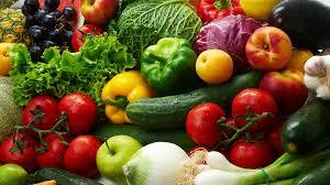 оскалиты овощи и фрукты