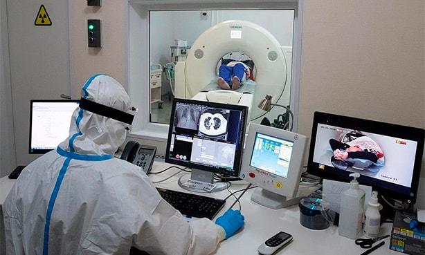 Компьютерная томография легких при подозрении на коронавирус