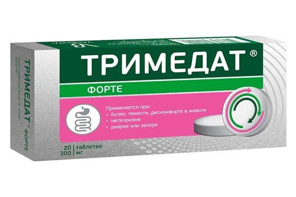 Тримедат Форте, таблетки