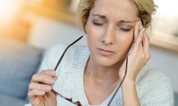 Мигренозные боли в голове