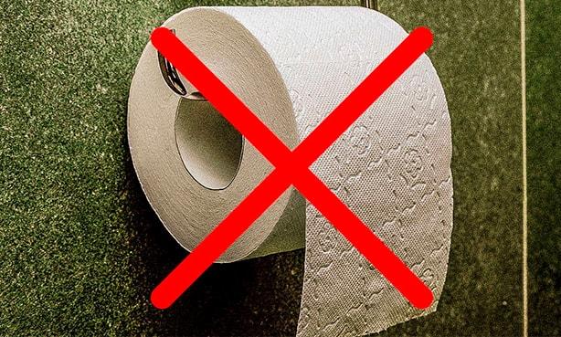 Туалетная бумага под запретом