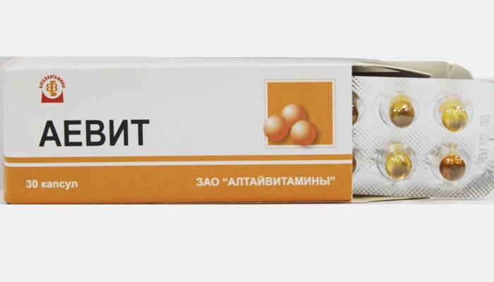Для чего и как принимать витамины Аевит - инструкция
