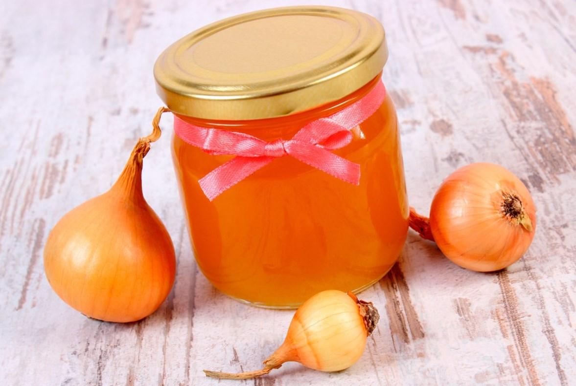 Мед и лук от кашля