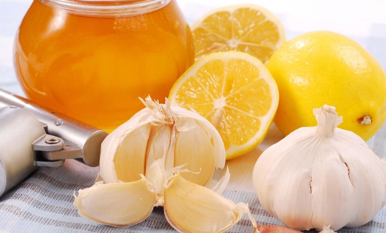 Чеснок, мед, лимоны