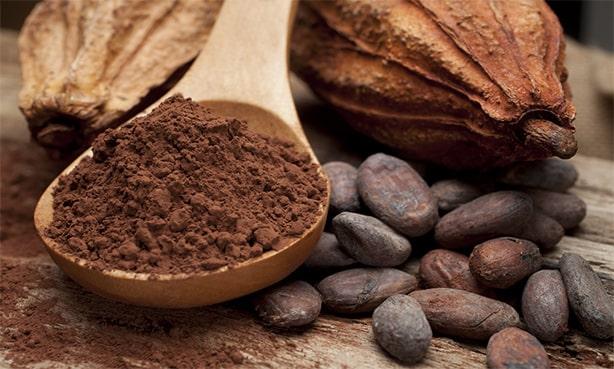 Какао бобы, молотый порошок