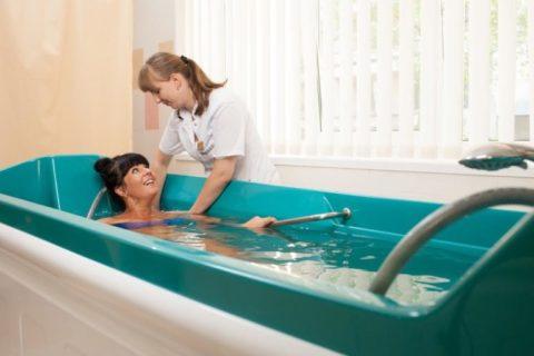 Бальнеотерапия - лечение водой