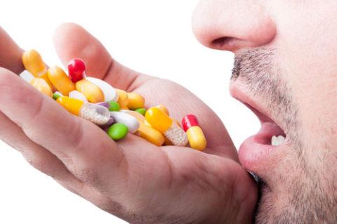 Бесконтрольный прием лекарств