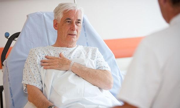 Пациент после инфаркта