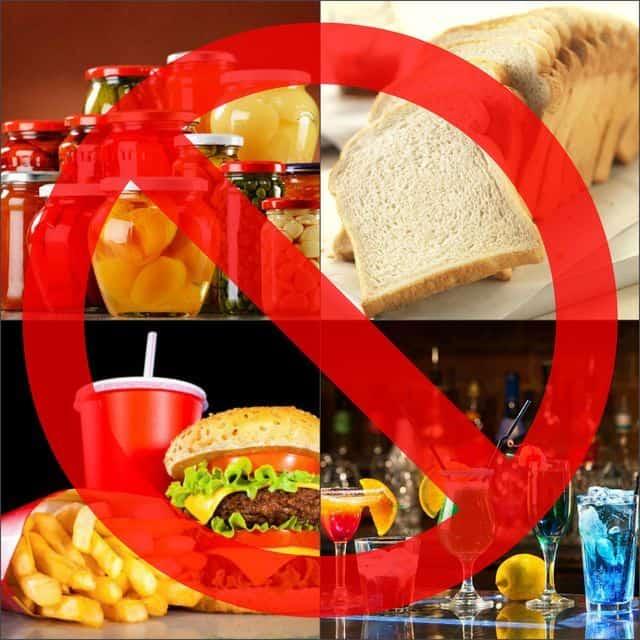 Запрещенные продукты при раке