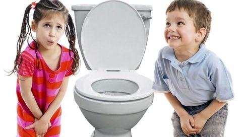 Дизурические явления у детей