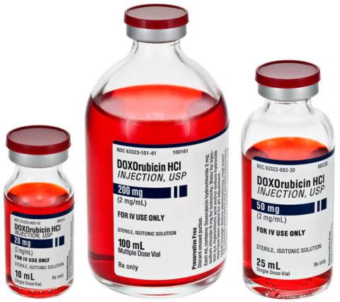 Доксорубицин – цитостатический препарат