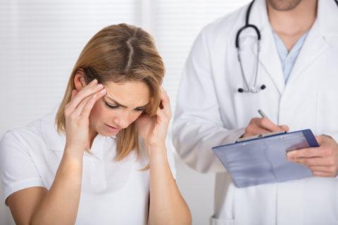 Если вас что-то беспокоит, обязательно обратитесь к врачу