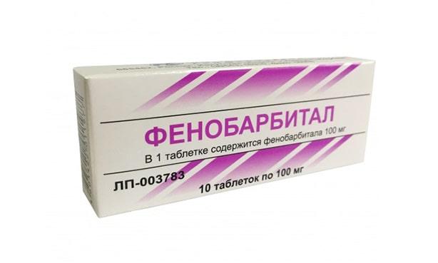Фенобарбитал, таблетки