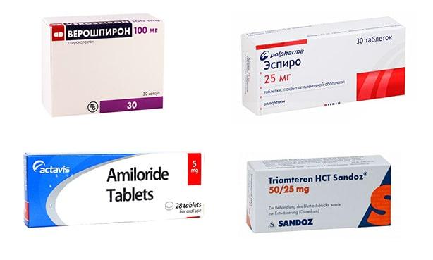 Калийсберегающие диуретики