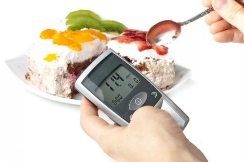 Измерение уровня глюкозы после еды