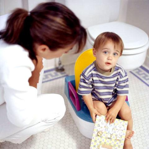 Изменение характера мочеиспускания у больных детей