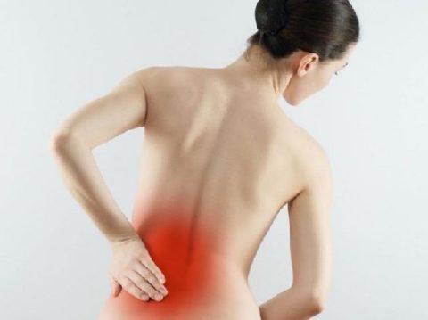 К специфическим симптомам воспаления относится боль в пояснице (проекция почек).