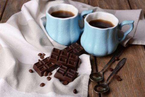 Кофе и шоколад исключить из рациона