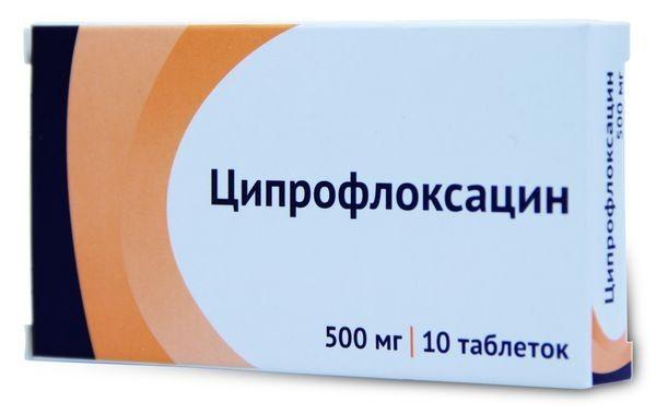 Ципрофлоксацин от уретрита