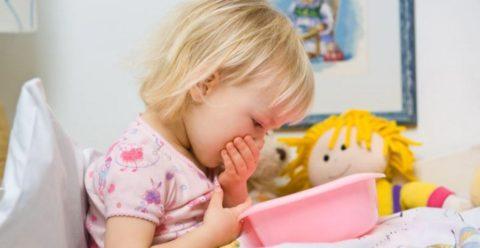 Многих деток беспокоит рвота
