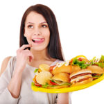 Нарушение обмена веществ из-за вредной еды