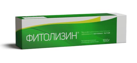 Натуральная паста фитолизин и ее применение