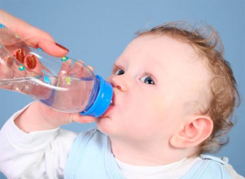 Обильное питье для профилактики обезвоживания.