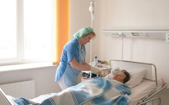 Уход за больным в больнице