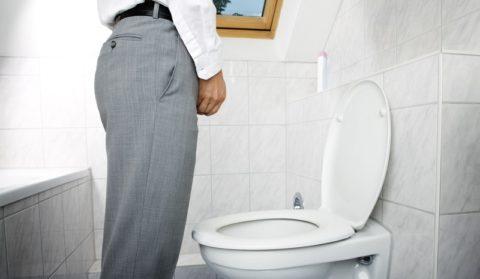 Очередной поход в туалет доставляет немало мучений