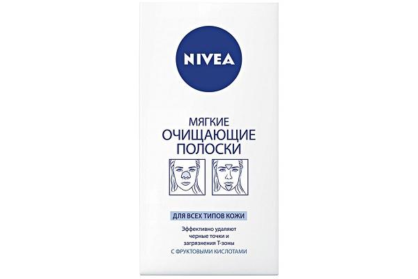 Полоски для носа от Nivea