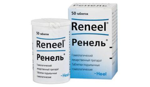 Препарат Ренель способствует уменьшению воспаления при цистите.