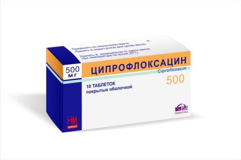 При каких заболеваниях применяют ципрофлоксацин