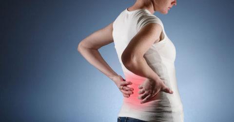 При развитии воспалительного процесса больной с викарной гиперплазией может ощущать интенсивную боль в пояснице.