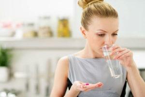 Пероральный прием антибиотиков
