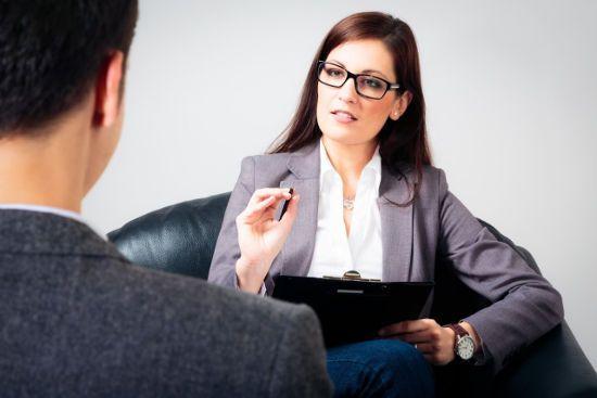На приеме у психолога