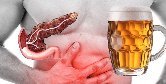 Пиво и воспаленная поджелудочная