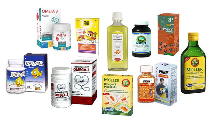 Омега-3 для детей: польза, лучшие препараты