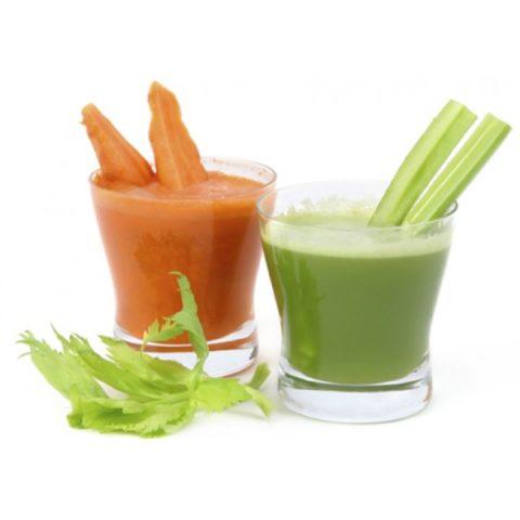 Сок сельдерея и моркови