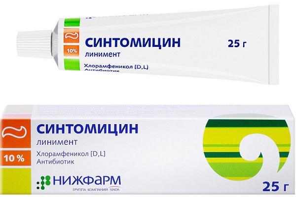 Линимент «Синтомицин»