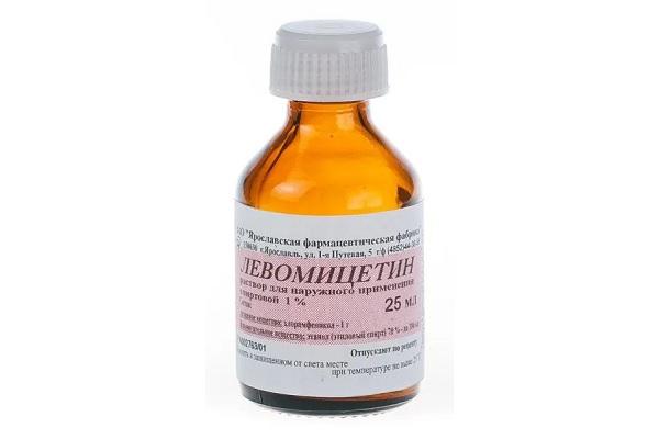 1% раствор Левомицетина
